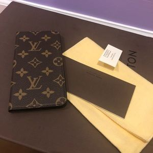 Louis Vuitton iPhone 7-8 plus folio